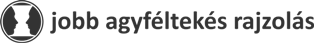 Jobb Agyféltekés Rajzolás Logo
