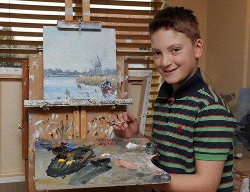 Amit ez a 11 éves kis srác művel: elképesztő! Nem fogsz hinni a szemednek, pedig milliókat keres vele…